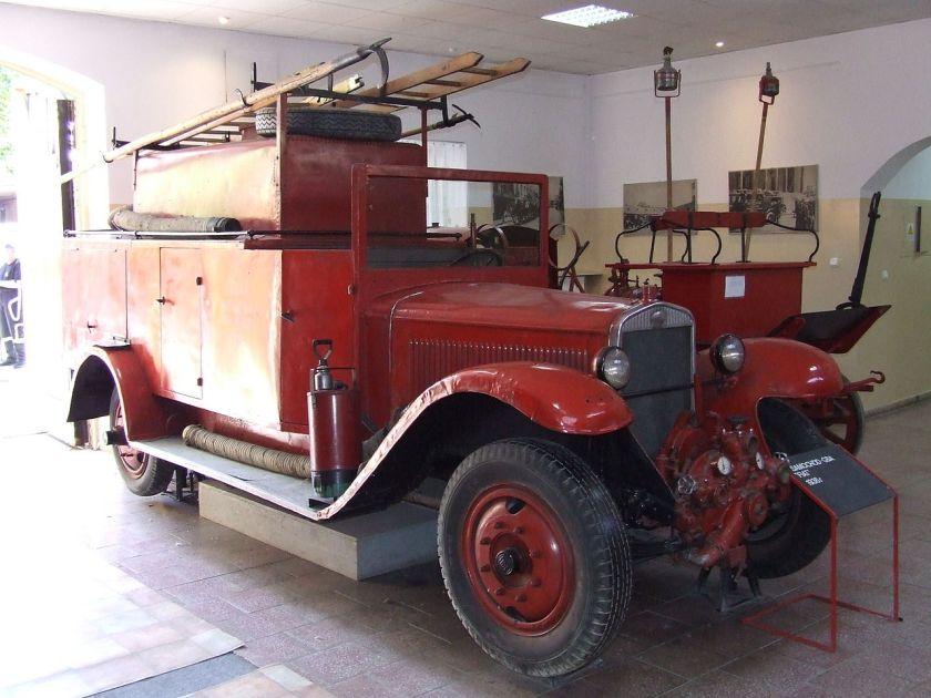 1936 Polski Fiat 621 L z r, Muzeum Pożarnictwa w Warszawie