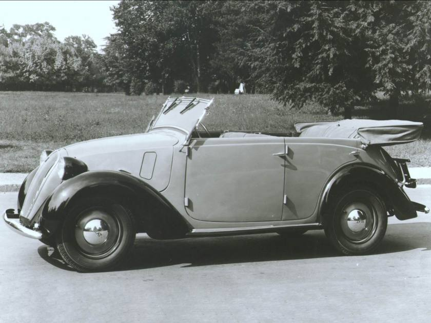 1937-39 Fiat 508 C Balilla 1100
