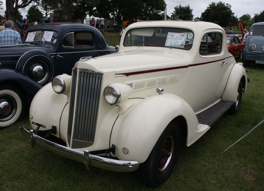 1937 Packard 115C Coupe