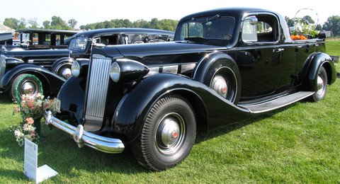 1937 Packard 1501 flower car