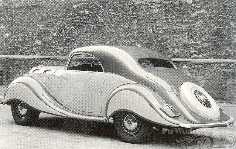 1937 Panhard et Levassor Dynamic Coupé.