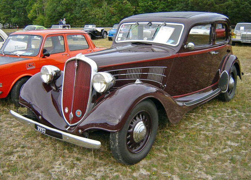 1937 Simca-Fiat 11CV