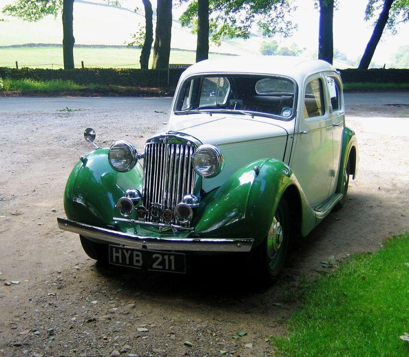 1938-48 Sunbeam Talbot 10 Saloon