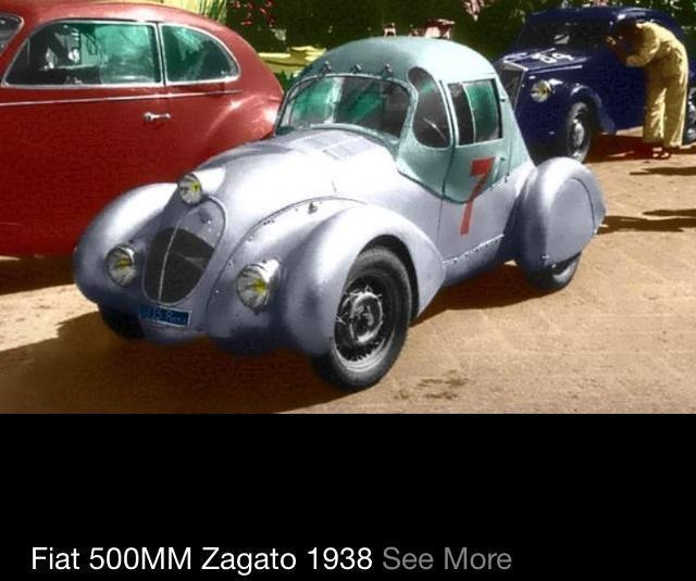 1938 Fiat 500MM Zagato