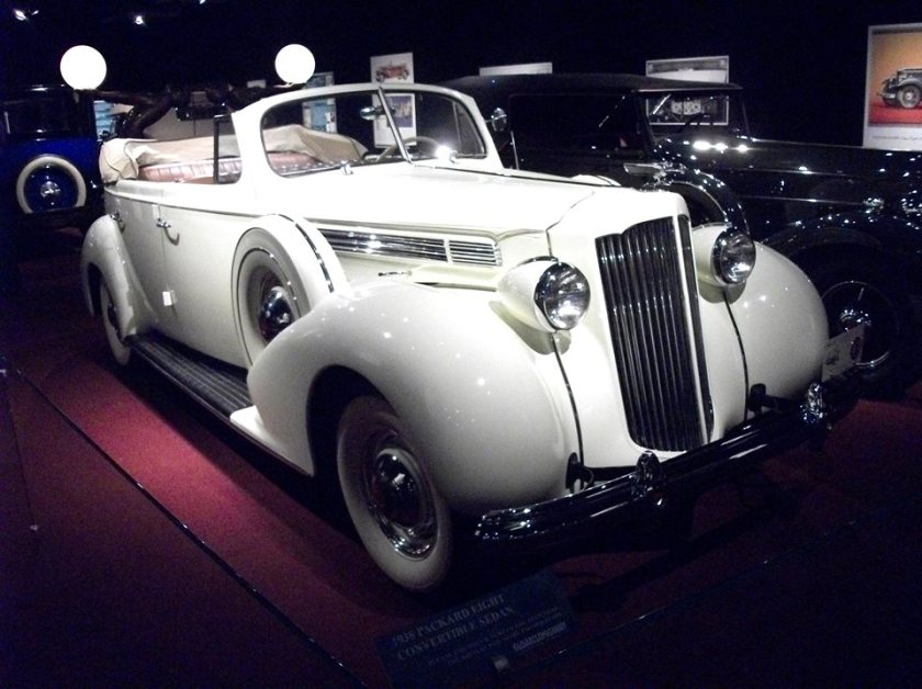1938 Packard Eight Convertible Sedan