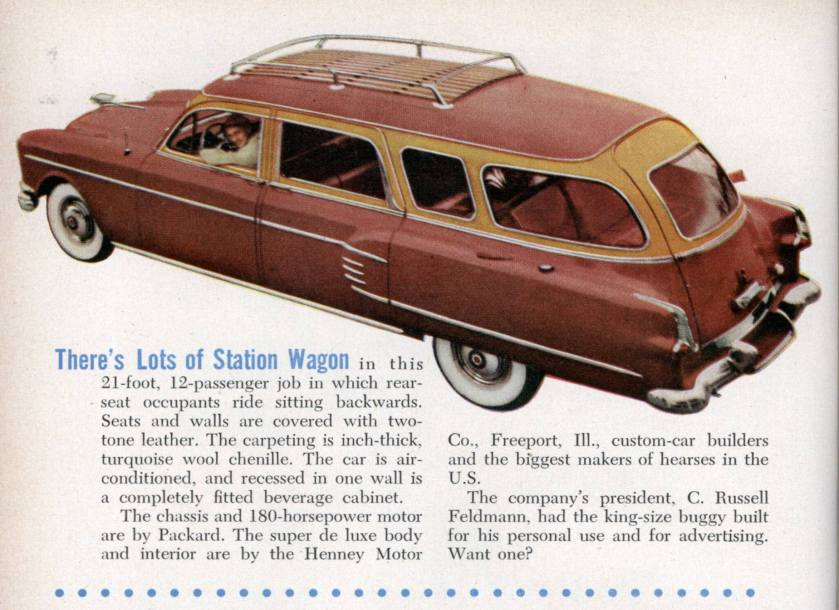 1938 Packard Henney Stationwagen 12 person