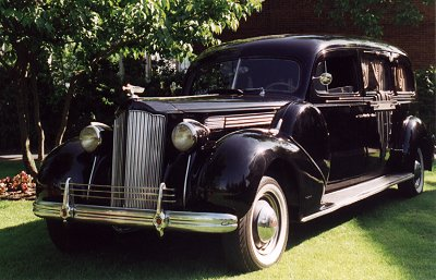 1938 Packhard Hearse
