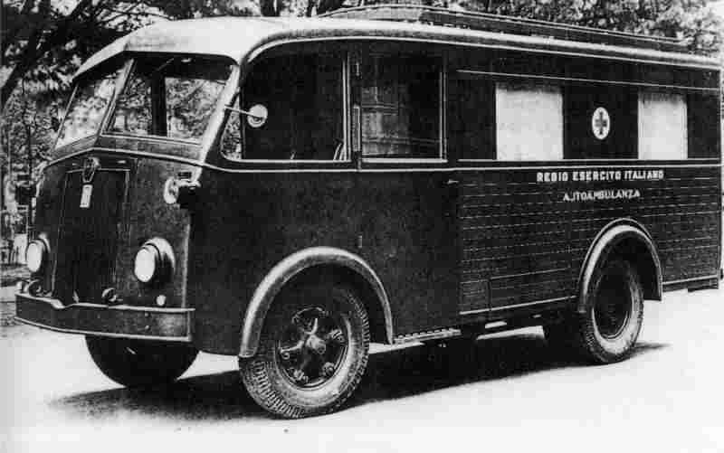 1939-48 Fiat 626 NLM autoambulanza