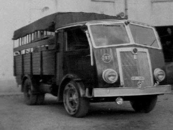 1939-48 FIAT 626BLM dei Vigili del Fuoco