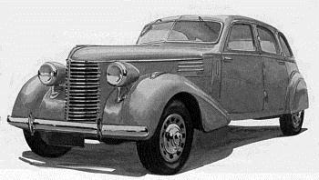 1939 Berliet Dauphine type VIRP2 limousine (1990 cm3, 115 KM)