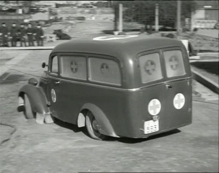 1939 Fiat 1100 Ambulanza in Alfa Tau!,