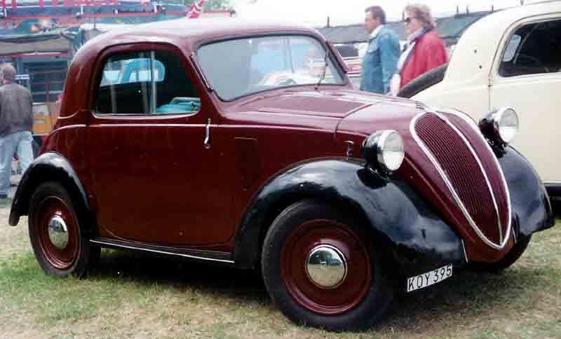 1939 FIAT 500A Standard Coupé