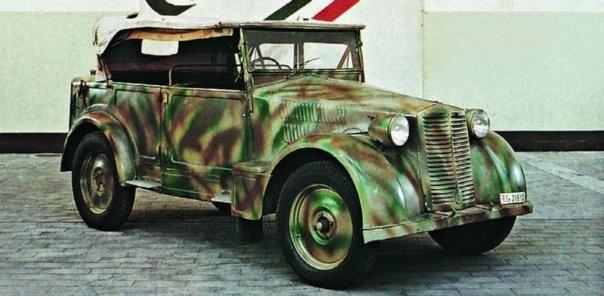 1939 FIAT-508СМ Balilla-1100 Coloniale,