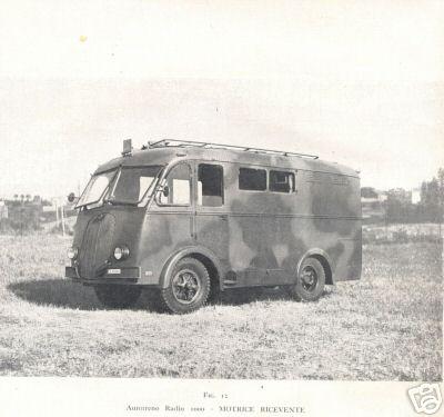 1939 Fiat 626 autotreno radio 960