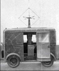 1939 FIAT 626 NLM Regia Aeronautica änhanger Radiogoniometro rimorchio E393 N