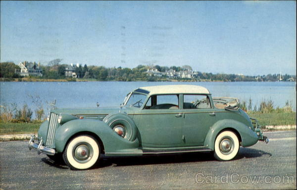 1939 Packard Twelve Brunn Cabriolet