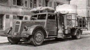 1940 BERLIET VDCN gazo-bois, sous l'occupation