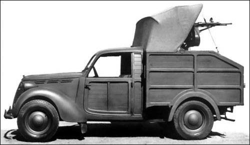 1940 Fiat 1100 A Antiaerea