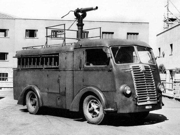 1940 FIAT 626NL Idroschiuma dei Vigili del Fuoco