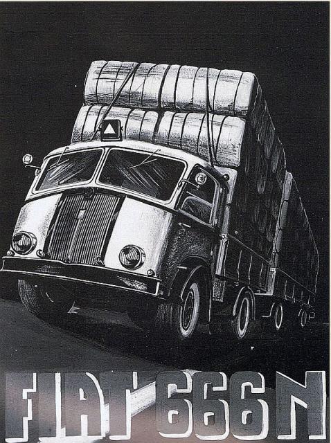 1940 FIAT 666 N
