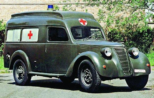 1940 FIAT-666NM, Militair