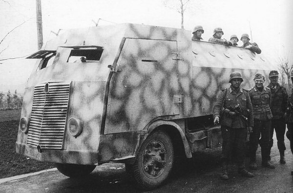 1941 Fiat-626NLM blindato