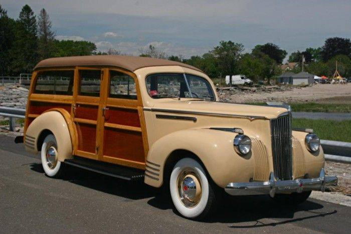 1941 Packard 110 Deluxe Woody Station Wagon