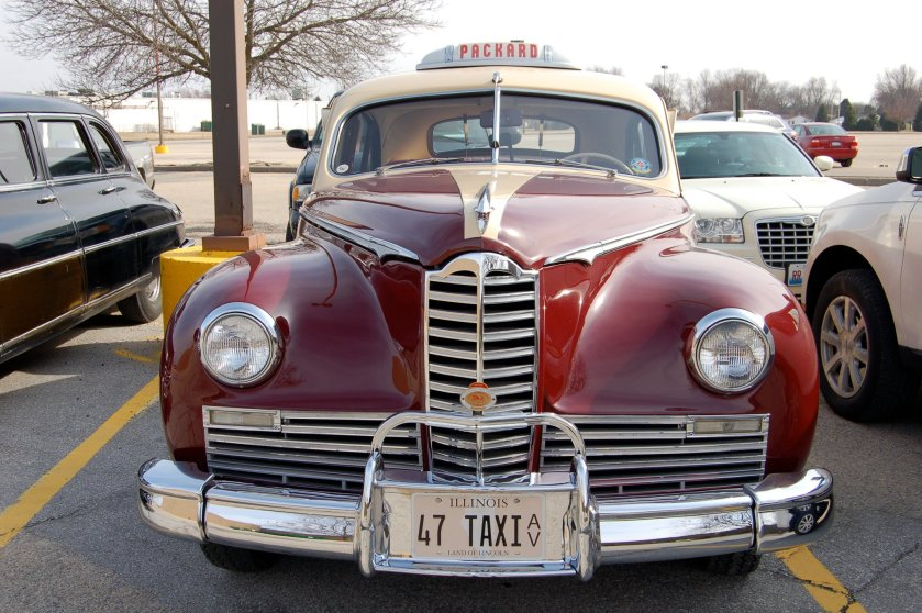 1941 Packard Clipper Taxi.
