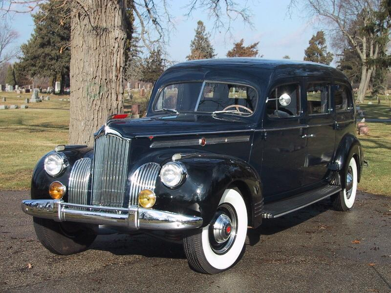 1941 Packard Limousine-Style Hearse by Henney