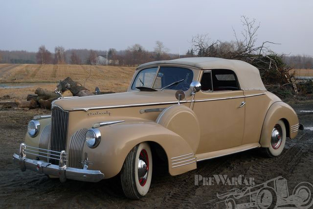 1941 Packard Model 120 Convertible