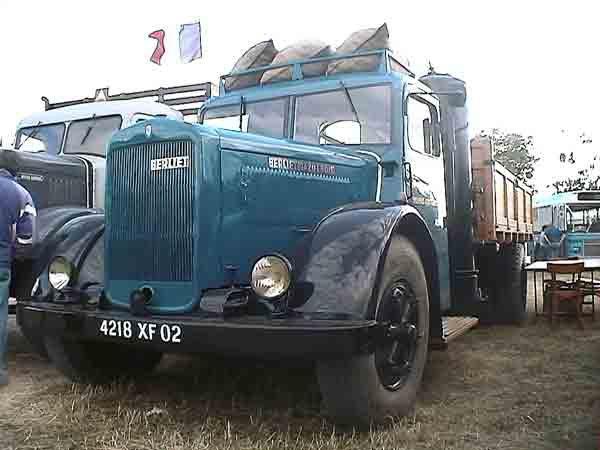 1942 Berliet GDR AG 7 Gazo bois