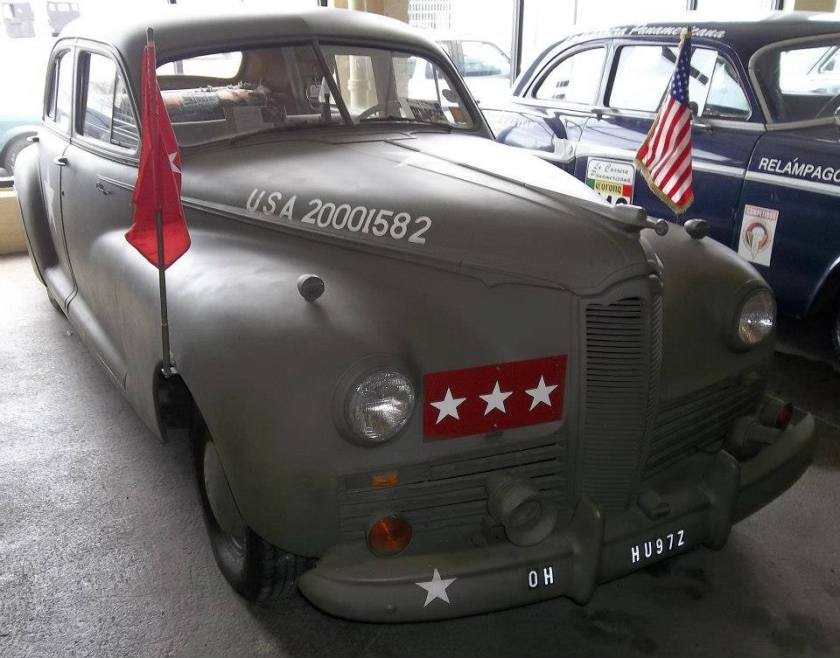 1942 Packard Clipper 160 Millitary Staff Car