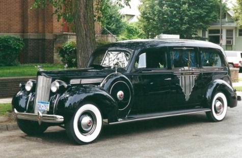 1942 packard hearse