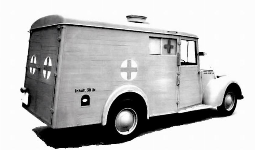 1944 Viberti Fiat 1100 Ambulance