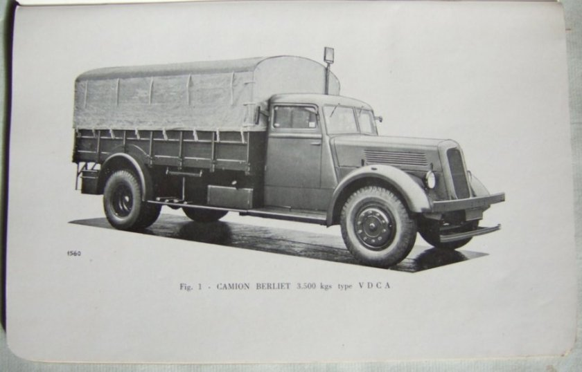 1945 Berliet fabriquait ce modèle