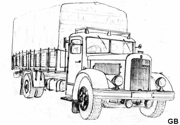 1946 BERLIET GDR 7 D