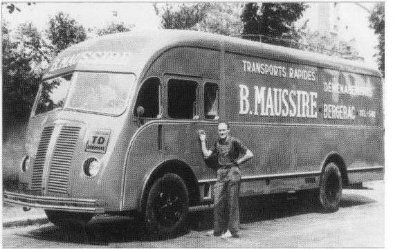 1946 BERLIET PCK 7 W, moteur 4 cyl diesel ricardo de 85 cv