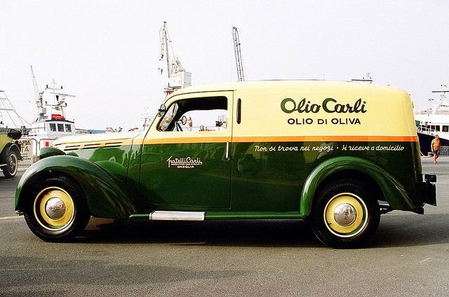 1946 Fiat 1100 ELR  Furgone Olio Carli