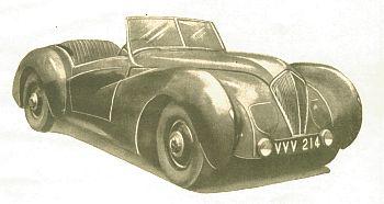 1946 Healey roadster