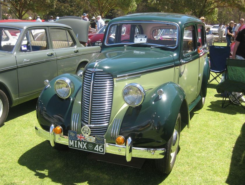 1946 Hillman_Minx_Saloon_of_1946