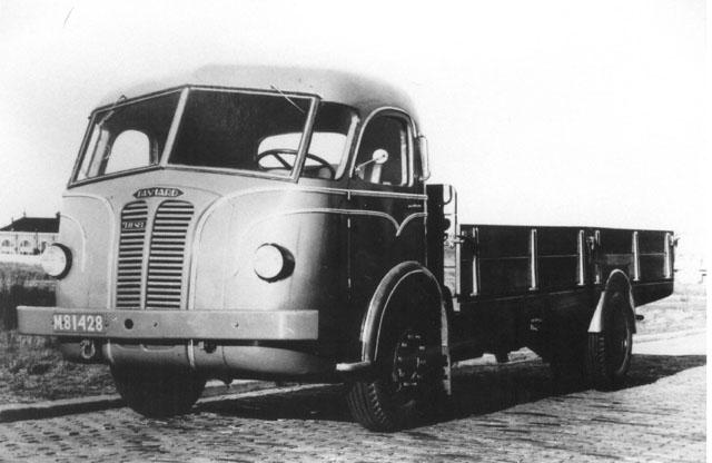 1946 Panhard 4HL diesel vrachtwagen NL