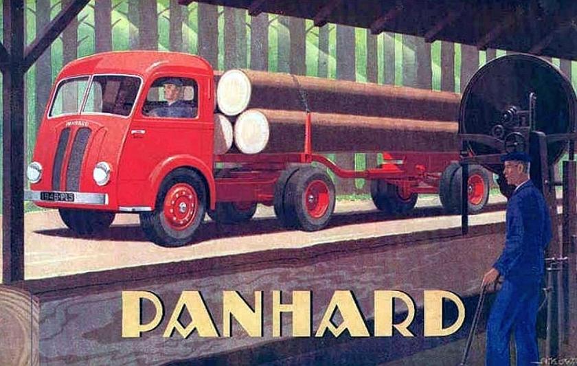 1946 Panhard truck