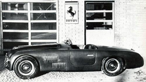 1947 Allemano Ferrari 166S Spyder #001S a