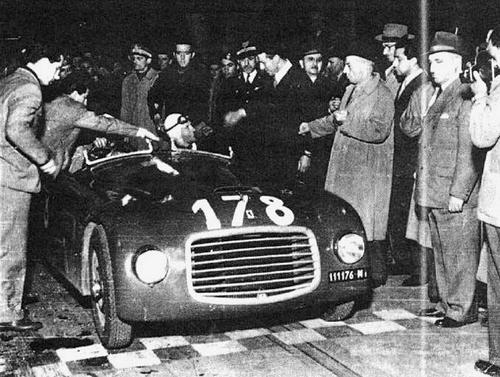1947 Allemano Ferrari 166S Spyder #001S c