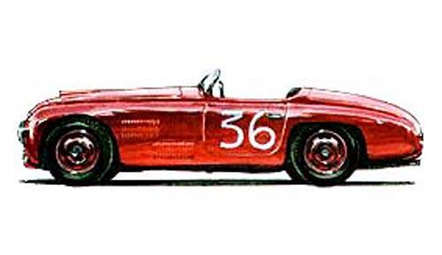 1947 Allemano Ferrari 166S Spyder #001S e