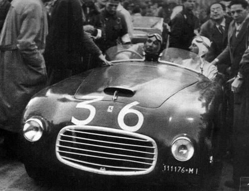 1947 Allemano Ferrari 166S Spyder #001S f