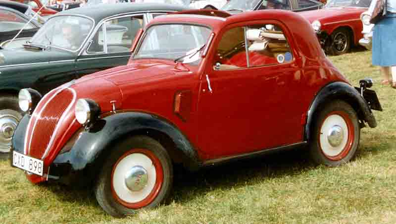 1947 FIAT 500 Convertible Coupé