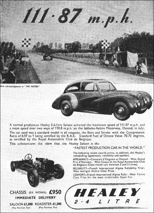 1947 Healey  elliot