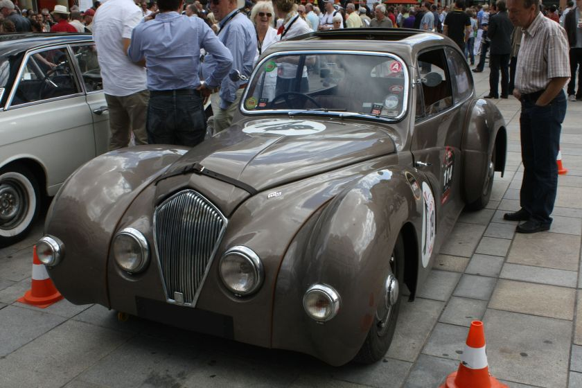 1947 Healey Elliott Saloon