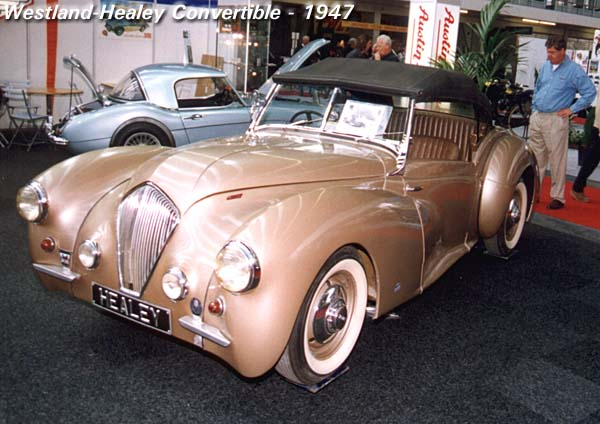 1947 Healey Westland Convertible